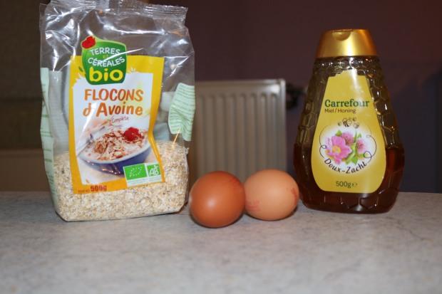 Ingrédients pour pancake